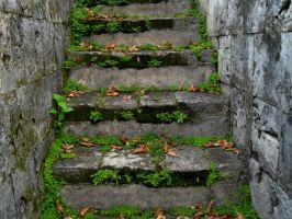 Climb the Stairs to Go Back in Time by caturs