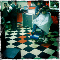 Down at the Barber Shop by Chylde