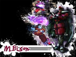 SFIV Splatter M.Bison - Dic by Vegett0