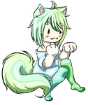 [Gift] Pixel Minty for AikoAyame by 3zumii