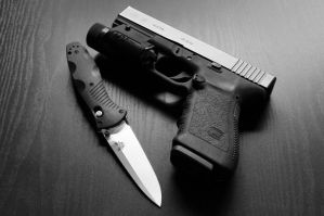 Benchmade and Glock by ZorinDenu