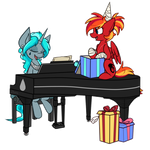 Fire Strike's Birthday Song by Spade-Sisters