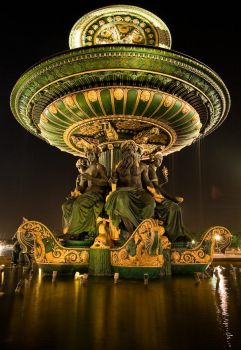 Fontaine de concorde by shark-graphic