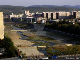Tilt and shift effect by mmariang