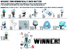 We have a winner! by Huispe