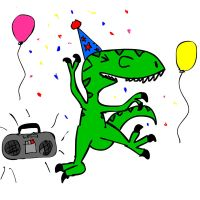 Party Rex by Raulboy