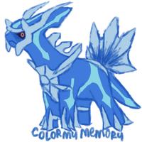 Commission: Kultimore (Dialga) by ColorMyMemory