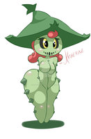 Katherine the Cacturne by DatBritishMexican