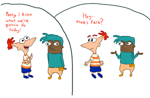 PaF - Where's Ferb? by Clanker