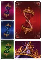 The Queen CARDS by Lilyas