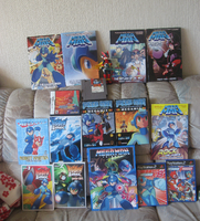My Megaman collection by Twilightberry