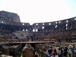 Colosseum Inside by nanjari