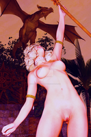 Domina In The Jungle Temple V2 by UnknownSingularity