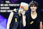 EXO-Macro-Not So Serious by The-Kawaii-Kitty