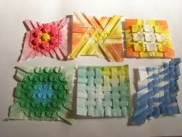 Origami Tessellation Sampler by 1sand0s