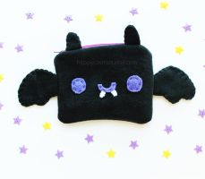 Spooky Bat Pouch by CosmiCosmos