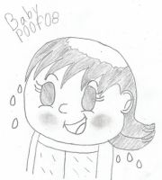 How Julie Look With Her Down by BabyPoof08