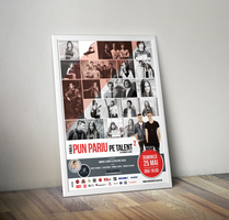 Pun Pariu pe Talent Contest Poster by snkdesigns