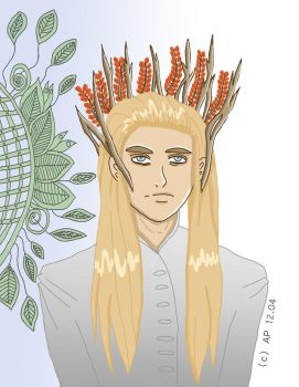 The great Thranduil by Miracoin