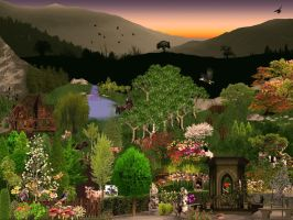 Sunset in Paradise - Resources by goazilla