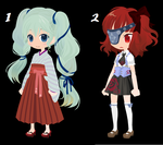 Day 2 Themed Adoptables by Azumi-the-Neko