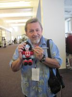 Paul and Perceptor by Wooden-Flashlight