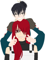 Pairing Contest Entry - One Hundred Eighty Four by kuloi-no-chloe