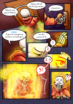 .: SwapOut : UT Comic [2-5] :. by ZKCats111
