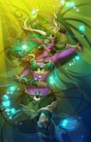 Ysera The Dreamer by artofcarmen