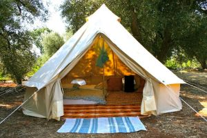 Glamping camping with family can be fun by somroom