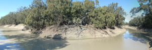 Darling River Panorama by MarzEz
