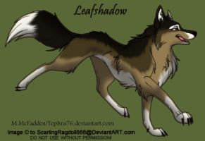 TNTC Character Leafshadow by Tephra76