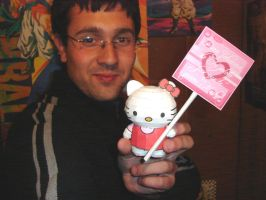 Hello Kitty Papercraft by ryo007