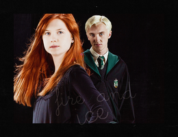 Draco and Ginny: Fire and Ice by kittycreed007