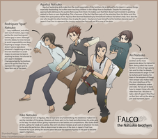 Falco - The Natsuko Brothers by SlumberPoppy