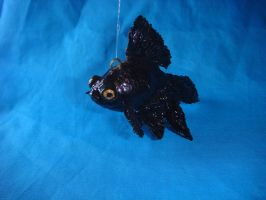 Black Moor Goldfish by Ethereal-Beings