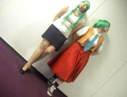 HNNKN : Mion and Shion by Kronprinz