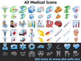 All Medical Icons by Ikonod