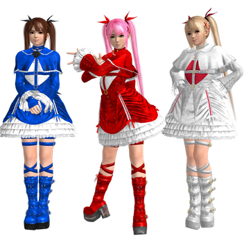 Marie Rose (C1) Recolors Pack 1 by CaliburWarrior