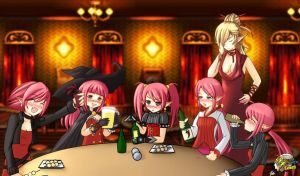 drunk mages by n3kobox