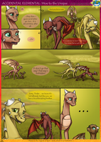 Accidental Elemental: Woe to the Unique, pg 4 by SekoiyaStoryteller