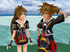 Fem!Sora PREVIEW by Kohaku-Ume