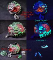 Madball Lock Lips ball Pipe By Undead Ed by Undead-Art
