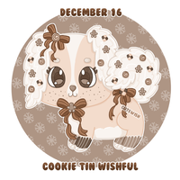 Day 16 || Cookie Tin Wishful || CLOSED by CuteWish