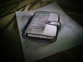 Notebook Anamorphic Drawing by rod750