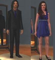 Sims Rumbelle by PMiow