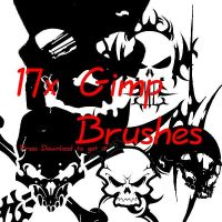 Free Gimp Brushes by brushfs