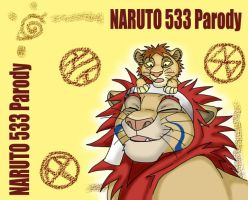NARUTO 533 Paro: The Lion King by MIZZKIE