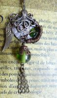 CTHULHU necklace steampunk ! by Rouages-et-Creations