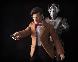 Behind you, Doctor! by luke314pi